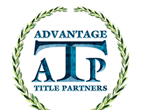 Logo & marketing materials for Advantage Title Partners