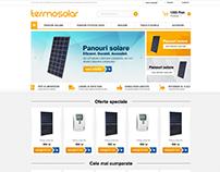 TERMOSOLAR - solar panels ecommerce