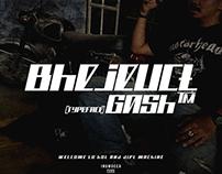 Bhejeuct Gash Typeface