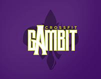 Crossfit Gambit logo redesign