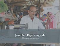 Information Design - Jasubhai Repairingwala