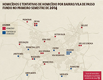 Infográfico: O panorama da criminalidade em Passo Fundo