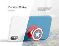 Pop Socket Mockup