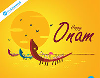 Onam Kerala Festival Free Psd