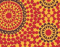 Star Mandala Print