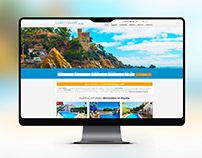 Página web de Agencia Lloret Holiday - Diamond House.