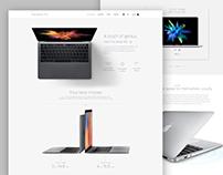 macbook-pro Landing page