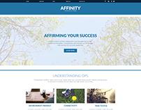 Affinity Website Concept