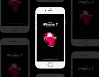 Free iPhone 7 Mockup PSD For Presentation