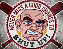 Chance to Shut up Sticker