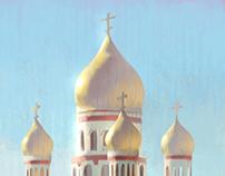 Russian Church From My Window