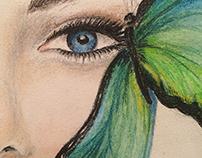 Woman Butterfly Morph