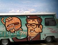 """Food Truck Design - """"Le Double M"""""""