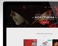 Nokcturna - Portfolio/Blog Website