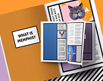 Memphis Magazine Layouts