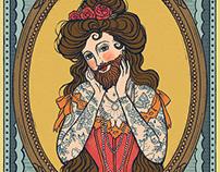 """""""Bearded beauty"""""""
