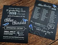 Chalkboard Style Invitation