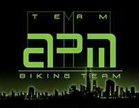 "Logo and Uniform ""APM biking team"""