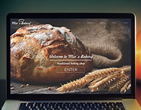 Mia`s Bakery Web Design