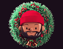 Christmas Self-Portrait