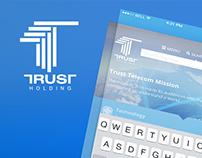Trust Holding UI Design