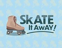Skate It Away! - Logo & Visual Branding Design