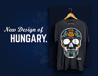 Clothes design with traditional hungarian motifs