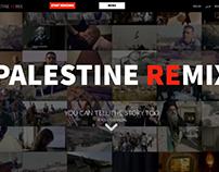 Palestine Remix - Website, AJE