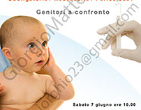 """Flyer """"Incontro sul vaccino"""""""