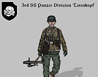 Historical Uniforms 'Totenkopf' Division art