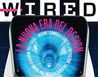 WIRED MAGAZINE - Anamorphic cover