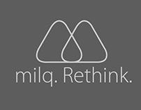 milq. Rethink UX/UI