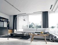 Family house interior