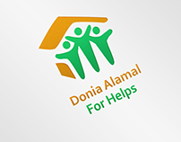 Donia Alamal for Helps - Logo