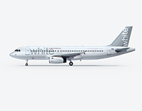 White Airline Brand