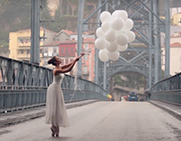 The ballerina and the bridge video by Inês Branco 2017