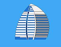 Illustration of Alfateh tower