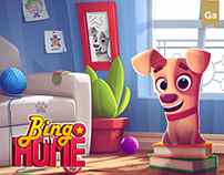 Bingo My Home • Game Art