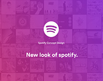 Spotify Redesig-Spotify再设计