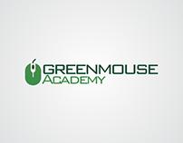 Greenmouse Academy Logo Design