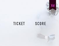 Ticket Score App