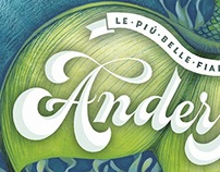 Book covers - Lettering