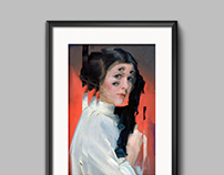 Illustration Princess Leia (star wars)