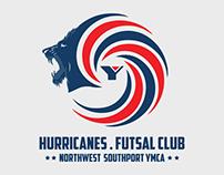 YMCA Hurricanes Futsal Club Liverpool - Logo