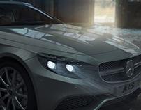 Mercedes Benz S63 AMG Render(C4D Thea renderer)