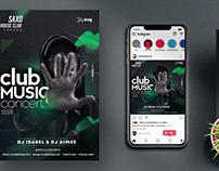 Artist Performance Music Flyer (PSD)