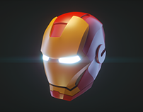 Avengers Endgame - Helmet Iron Man