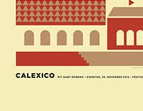 Calexico Screenprint 2015