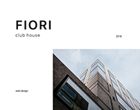 Club House Fiori — real estate | Landing page