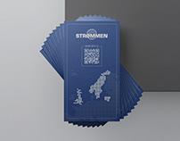 """""""Strommen"""" vizitinės kortelės"""